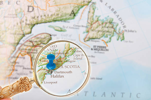 halifax, nova scotia, kanada - kanada rundreise stock-fotos und bilder
