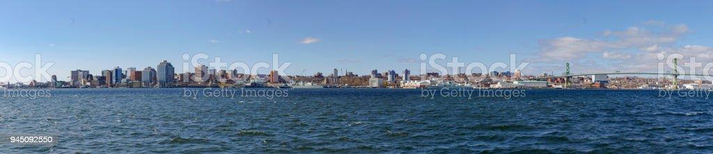 Halifax Panorama stock photo