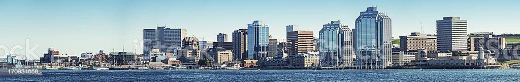 Halifax Panoramic royalty-free stock photo