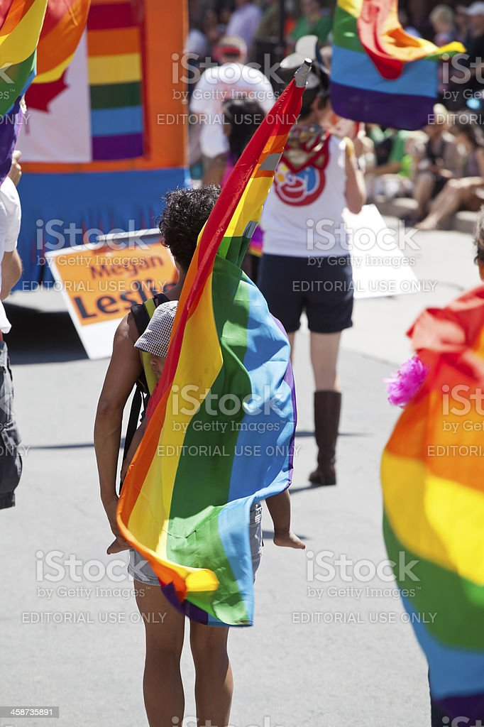 Halifax Pride Parade 2012 royalty-free stock photo