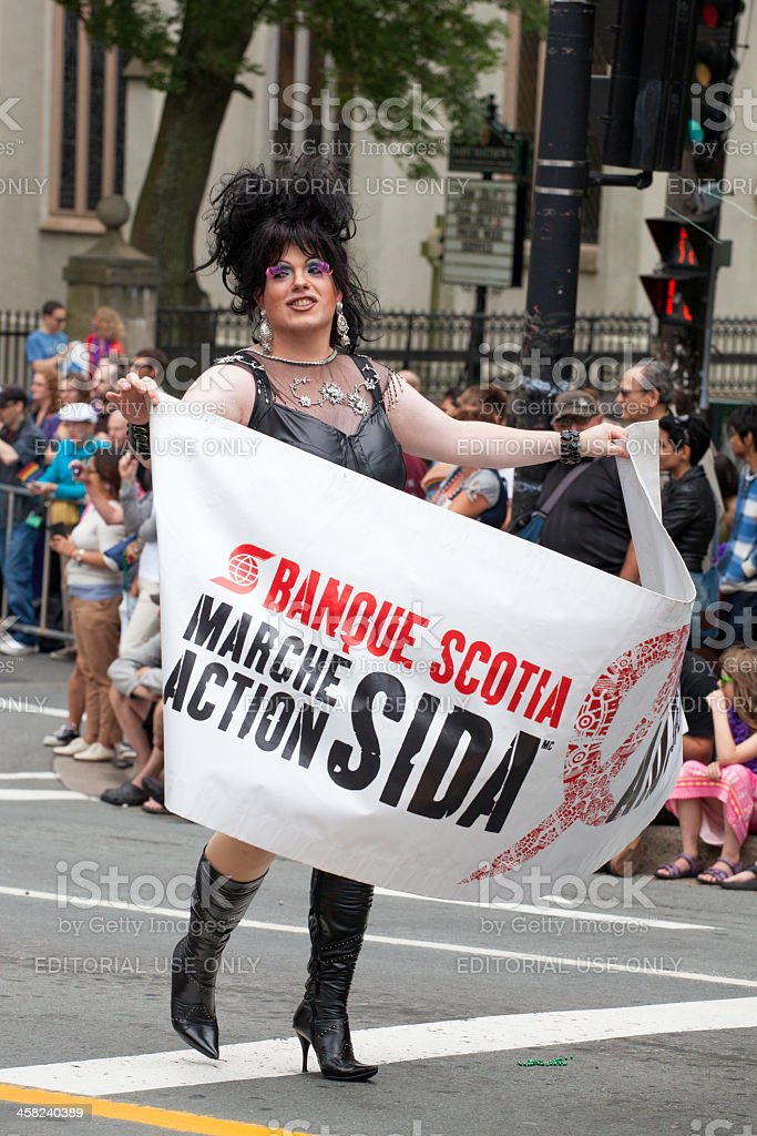 Halifax Pride Parade royalty-free stock photo