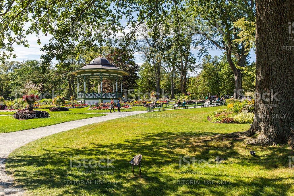Halifax Public Gardens royalty-free stock photo