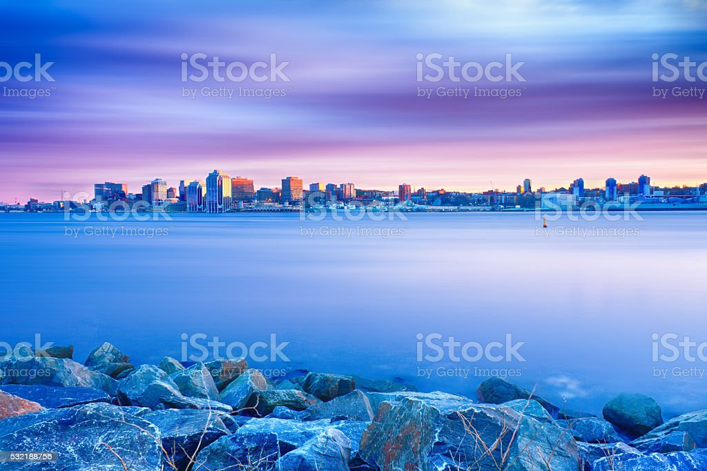 Halifax Skyline Beauty stock photo