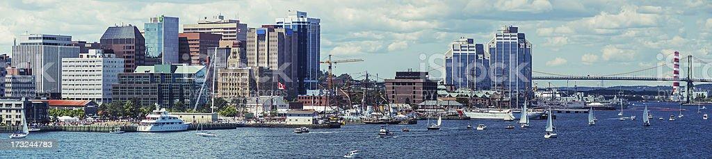 Halifax Waterfront stock photo