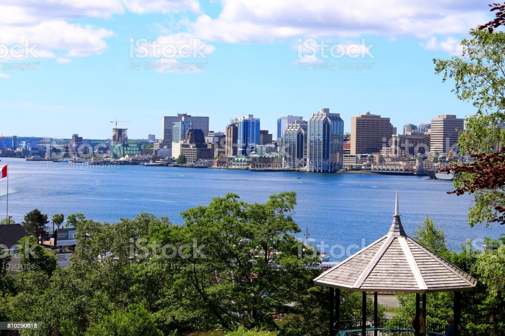 Halifax Waterfront stock photo