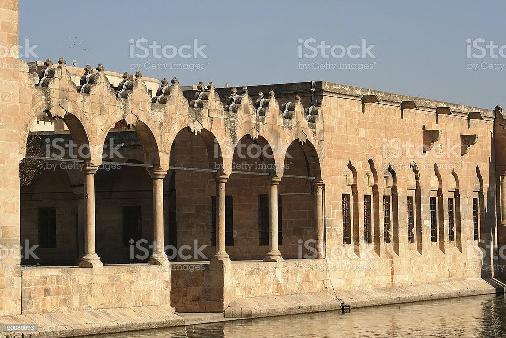 Halil-ur Rahman Mosque and Holy lake IV royalty-free stock photo