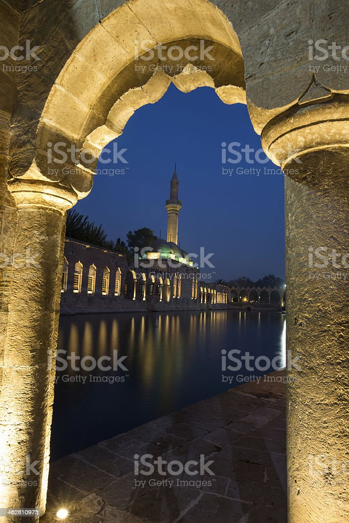 Halil-ur Rahman Mosque stock photo