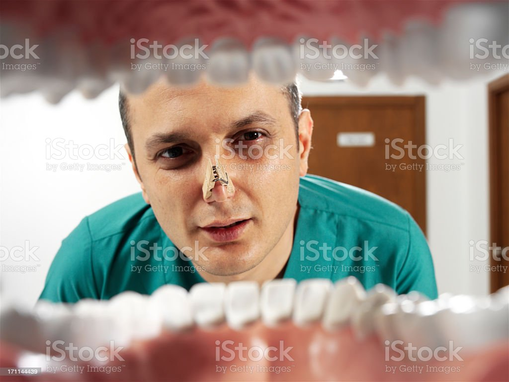 halitosis royalty-free stock photo