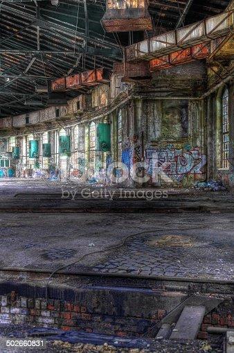 istock Hall abandoned 502660831