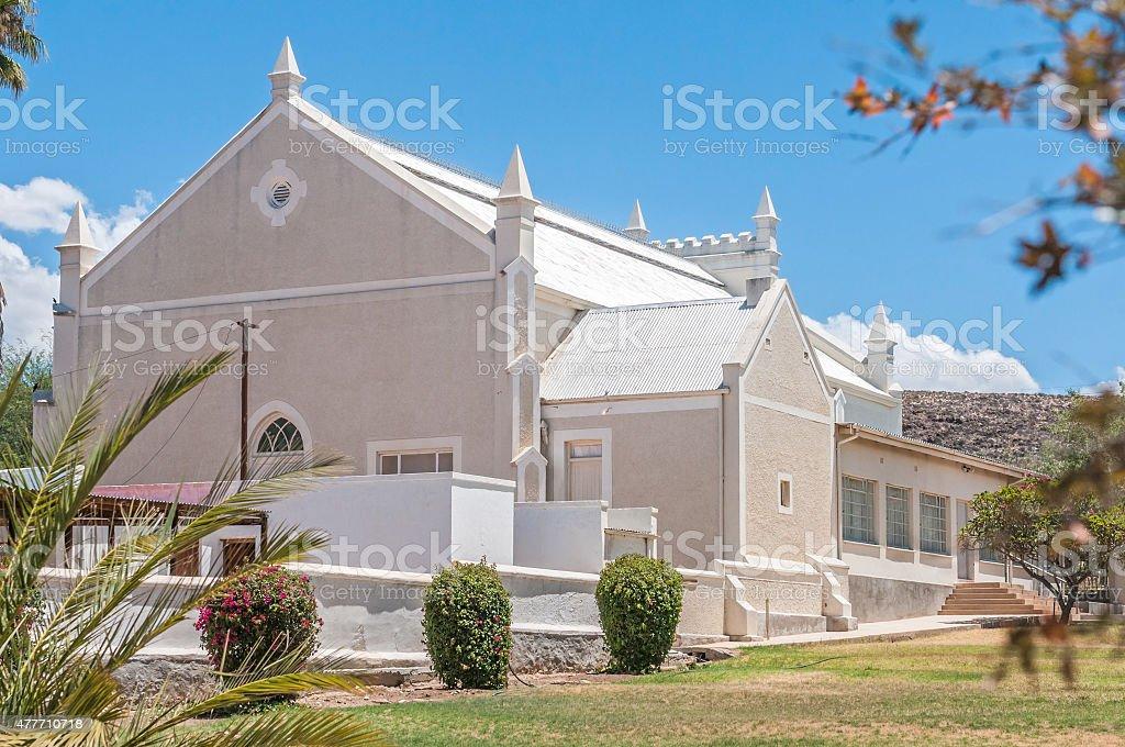 Hall, Dutch Reformed Church, Prince Albert stock photo