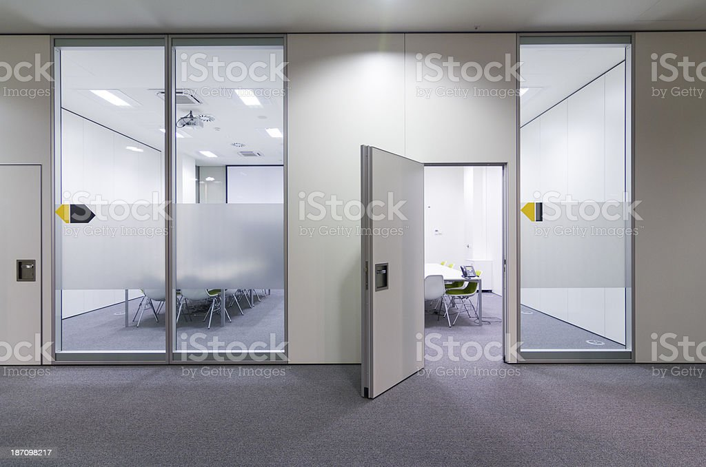 Hall in business building royalty-free stock photo