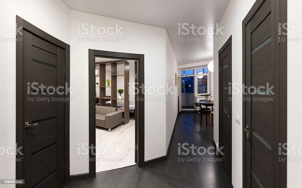 Hall in the apartment royalty-free stock photo