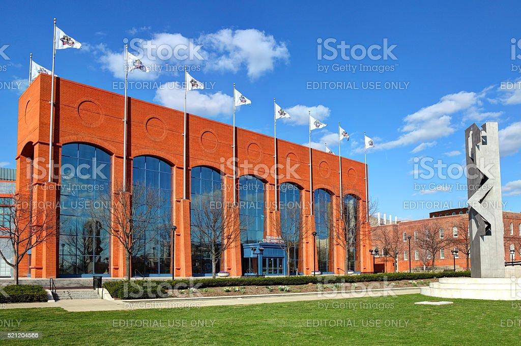 NCAA Hall of Champions stock photo