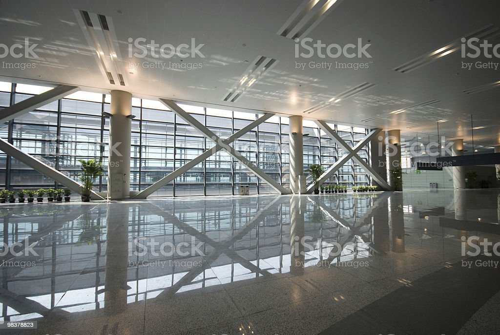 hall of inner architecture royalty-free stock photo