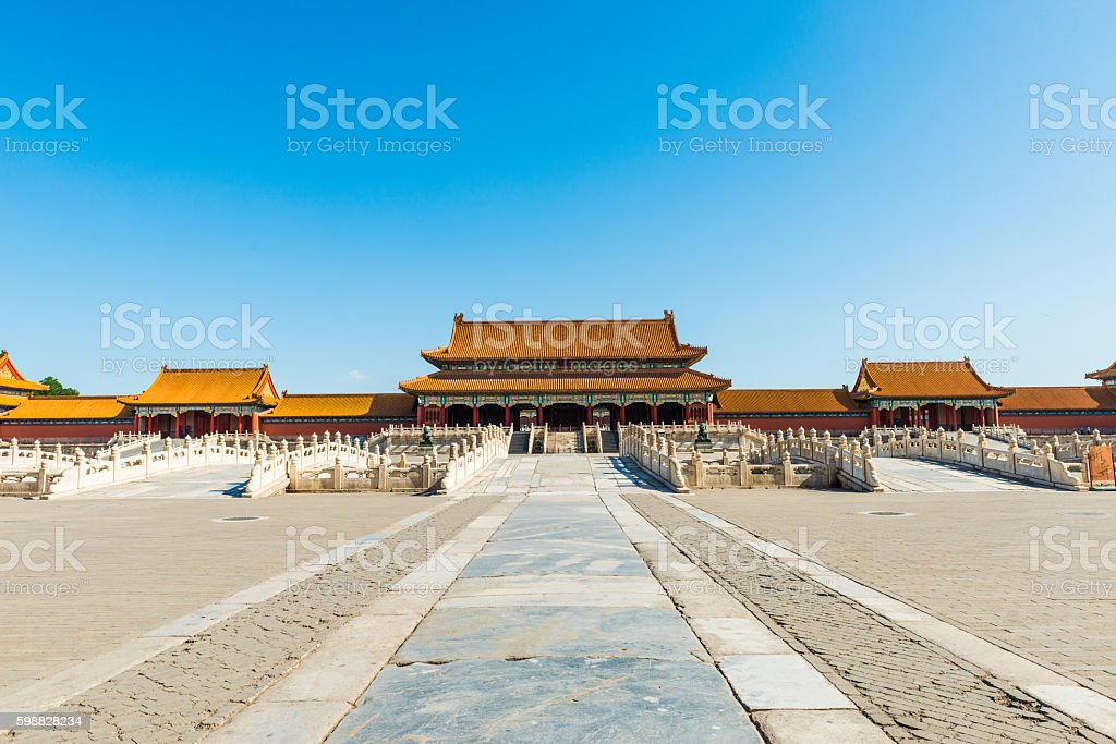 Hall of Supreme Harmony, Forbidden City in Beijing