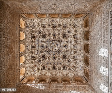 121178604istockphoto Hall of the Kings in the Alhambra  of Granada, Spain 537986333