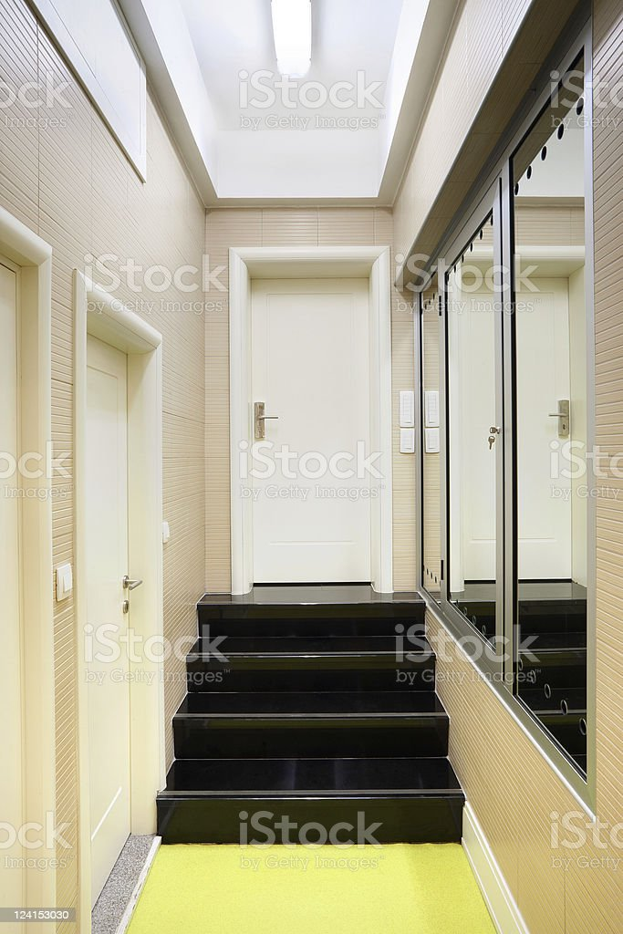 Hall stairs royalty-free stock photo