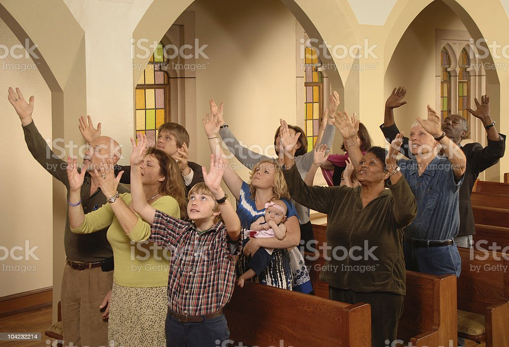 Halleluia stock photo