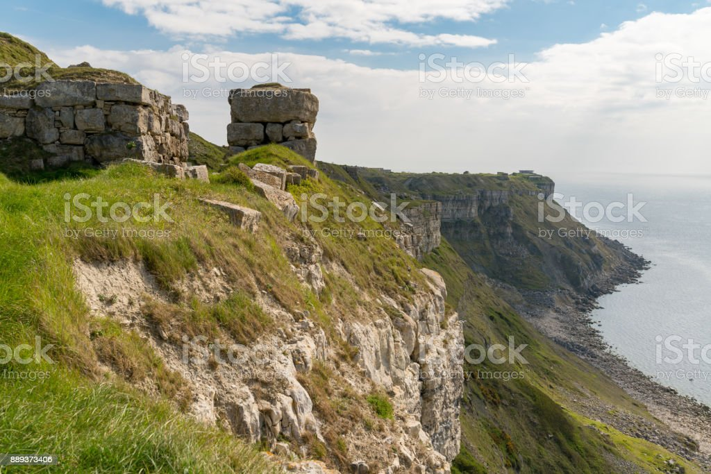 Hallelujah Bay, Isle of Portland, Jurassic Coast, Dorset, UK stock photo