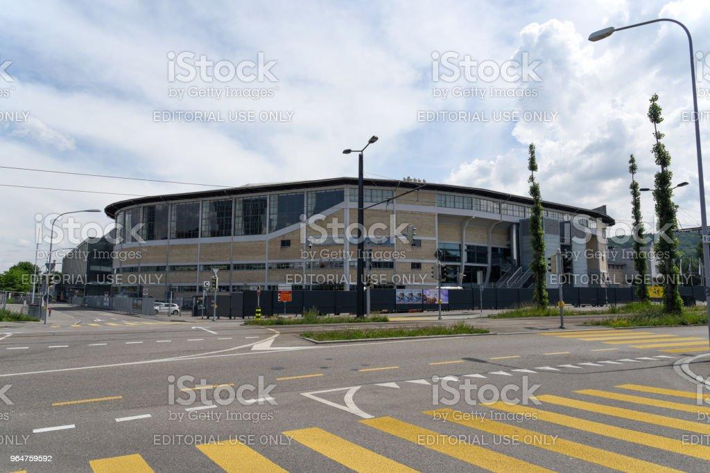 Hallenstadion Zurich royalty-free stock photo
