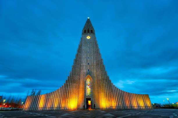 Hallgrimskirkja Church Downtown Reykjavik, Iceland Hallgrimskirkja Church Downtown Reykjavik, Iceland, post processed in HDR Hallgrímskirkja church stock pictures, royalty-free photos & images