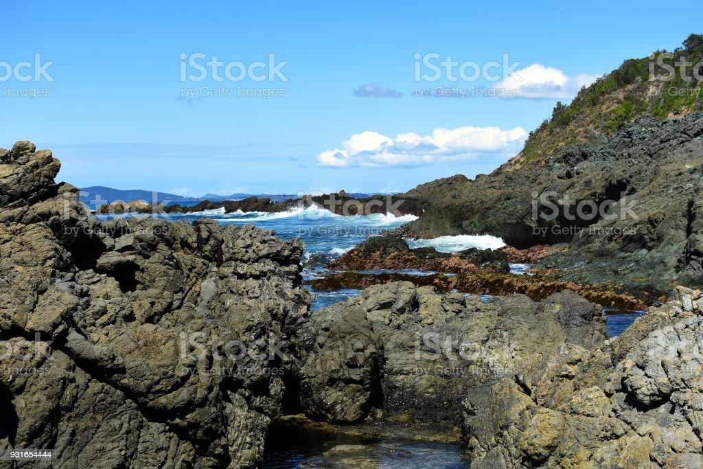 Hallidays Point Australia stock photo