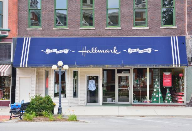 Hallmark Cards is a privately owned American company stock photo