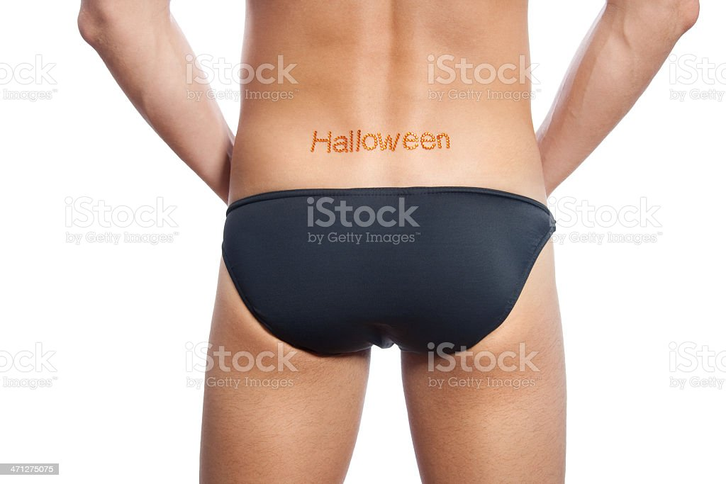 Halloween Back royalty-free stock photo