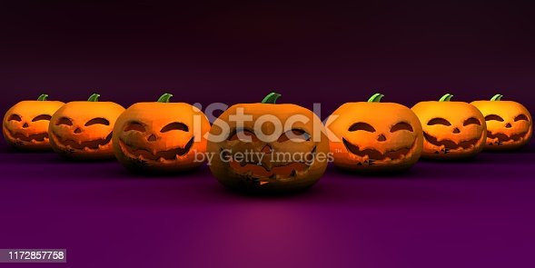 Halloween Background Side View Copy Space Season