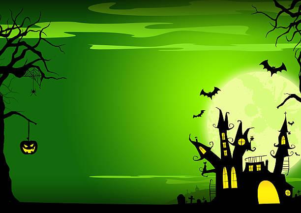 halloween-hintergrund - halloween party einladungen stock-fotos und bilder