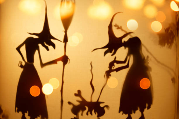 Halloween background - Witches brew stock photo