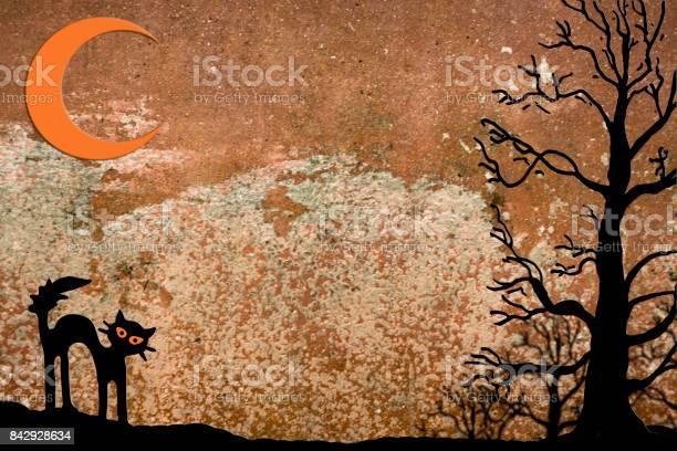 Halloween background with moon black cat picture id842928634?b=1&k=6&m=842928634&s=612x612&h=xfisme09inv5302t82vbfstls sewckm23vrow3lgbe=