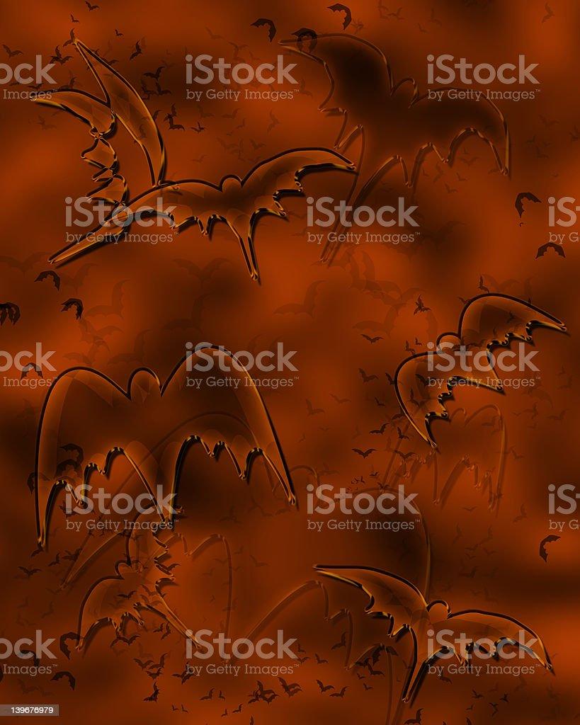 halloween bats background royalty-free stock photo