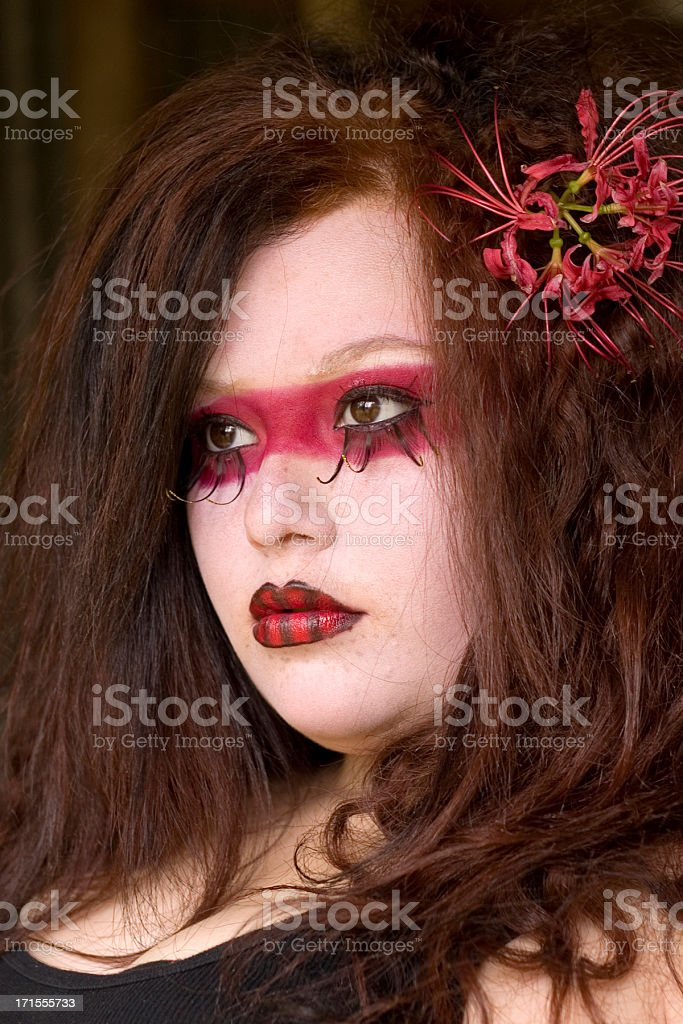 Halloween Beauty royalty-free stock photo