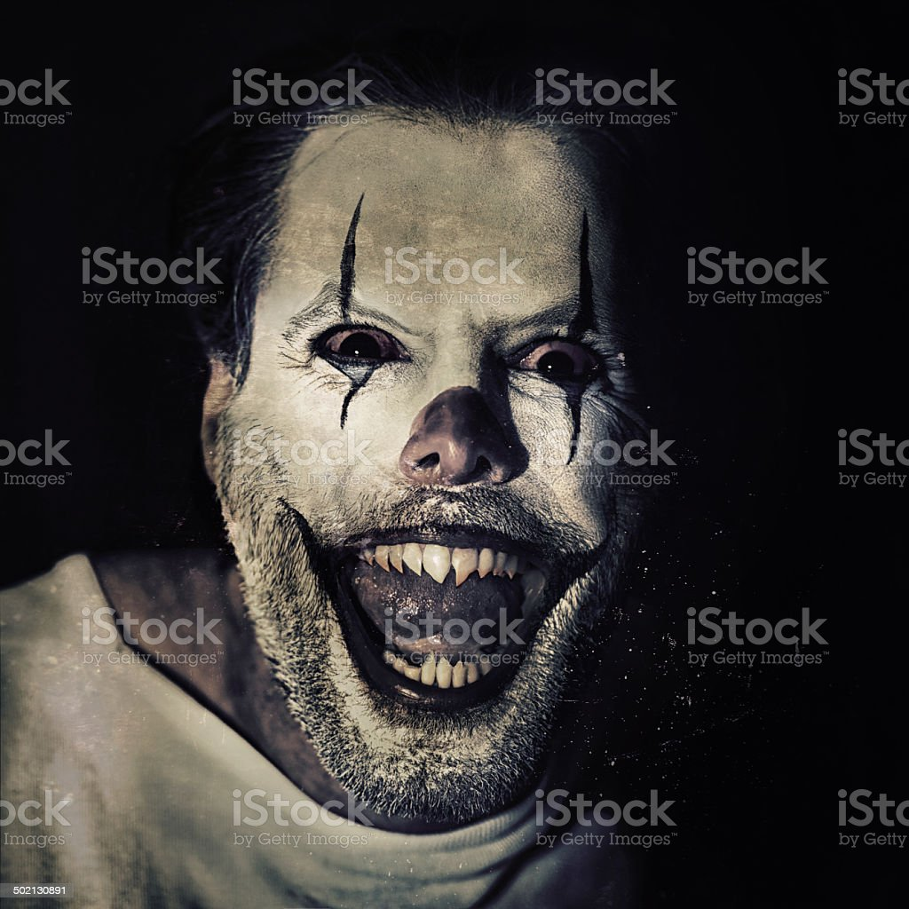 Halloween brings out the crazy in you stock photo