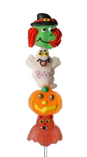 halloween süßigkeiten - die mumie 4 stock-fotos und bilder