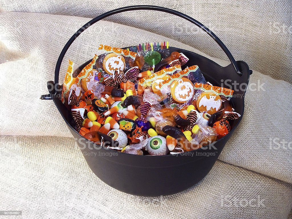 Halloween Candy 3 royalty-free stock photo