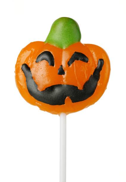 halloween-candy - lutscher cookies stock-fotos und bilder
