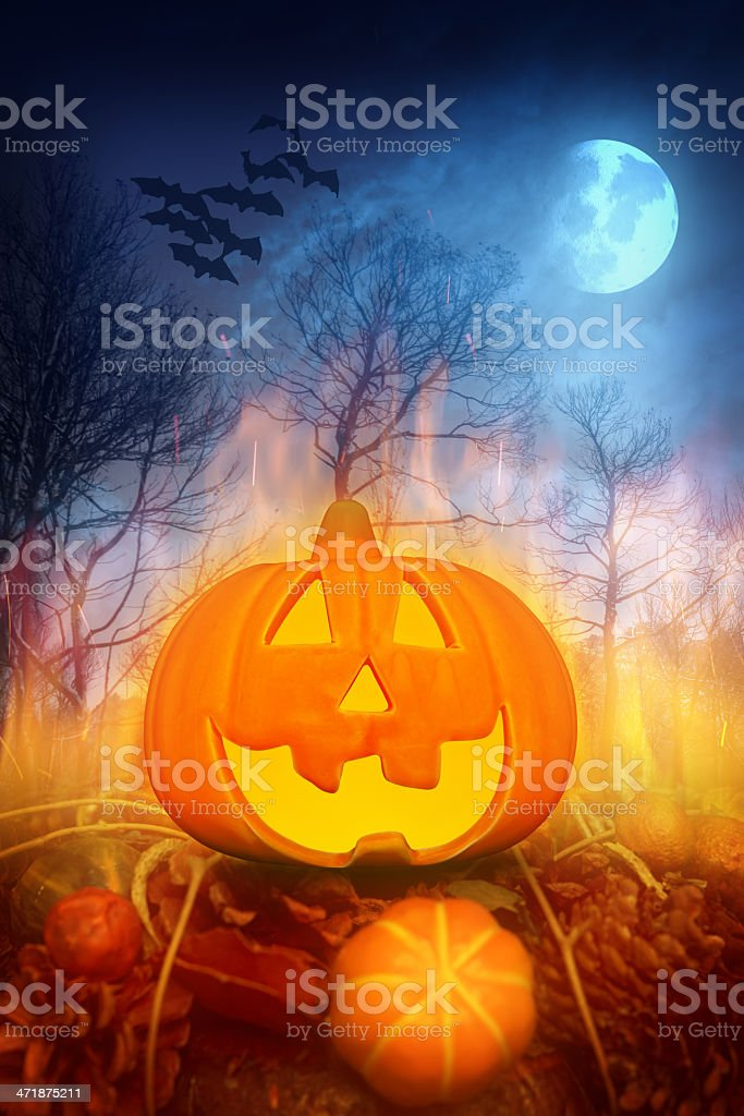 Halloween concept royalty-free stock photo