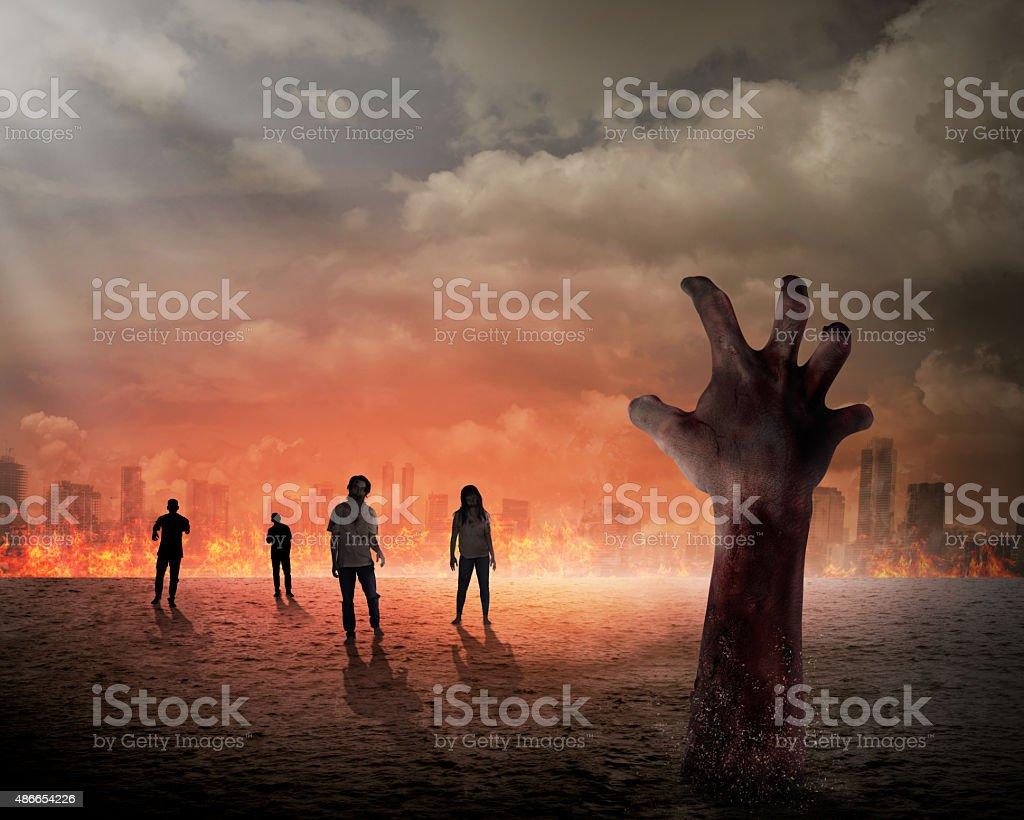 Halloween concept stock photo