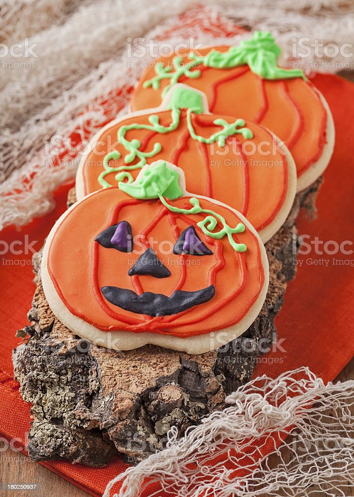 Halloween cookies royalty-free stock photo