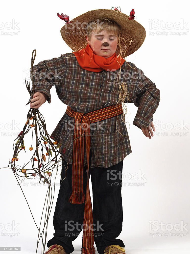 halloween costumes scarecrow stock photo & more pictures of boys
