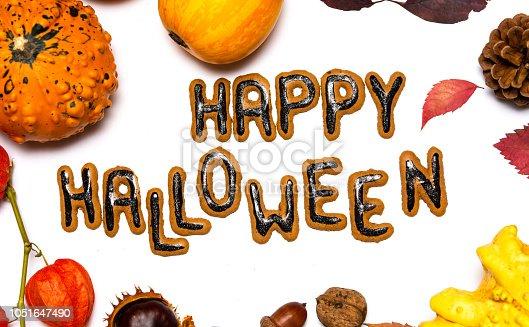 istock Halloween day background card 1051647490