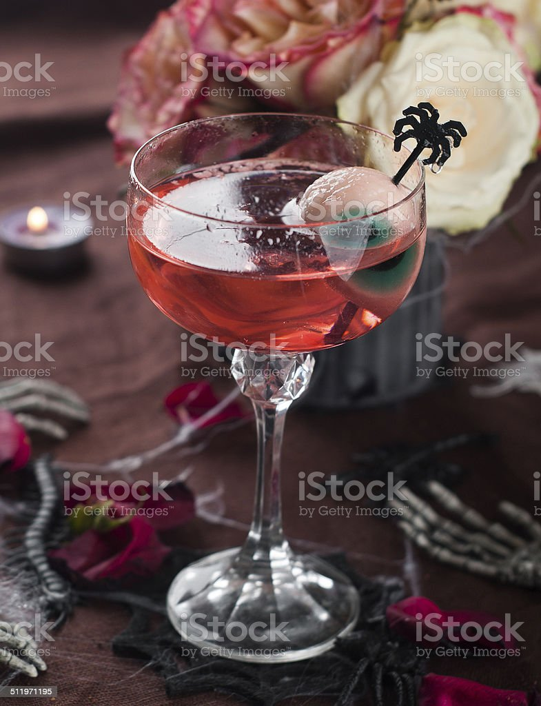 Halloween drink stock photo