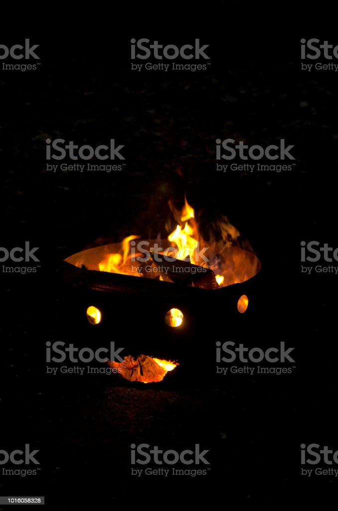 Halloween Fire Pit Stock Photo Download Image Now Istock
