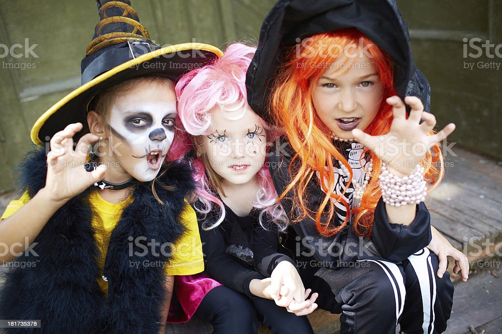 Halloween fright royalty-free stock photo