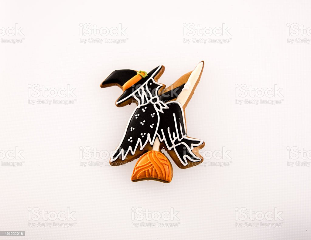 Halloween Gingerbread Collection stock photo