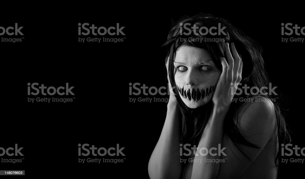 Halloween scary Boca Chica con - foto de stock