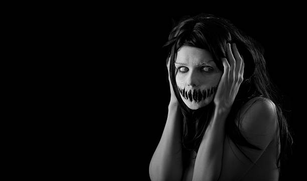 Halloween scary Boca Chica con - foto de stock