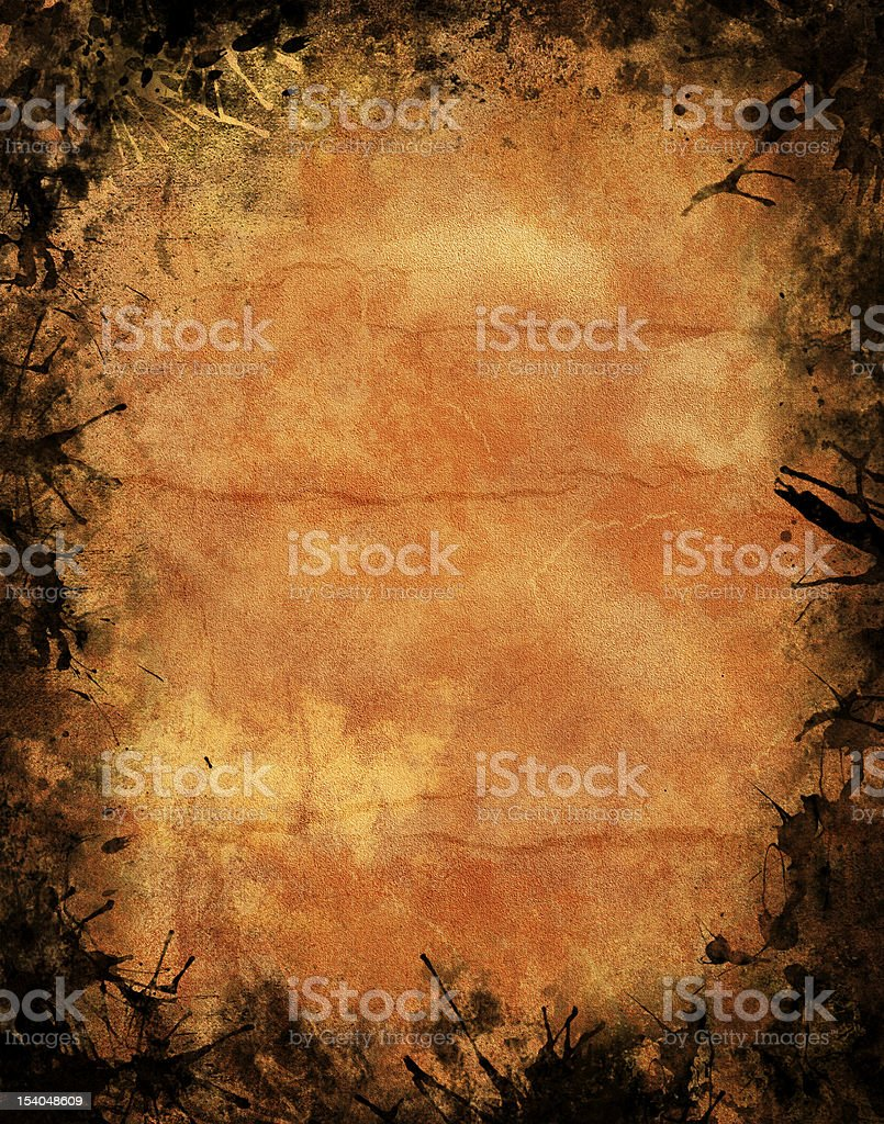 Halloween Grunge Texture stock photo